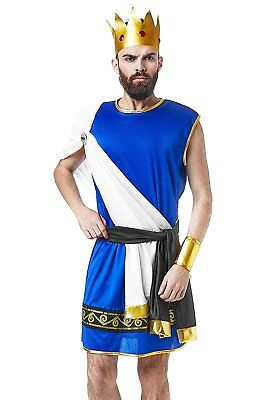 Olympian King Zeus Ancient Greek God Lord of Thunder Dress Up Halloween Costume