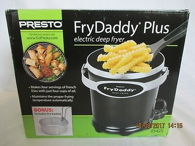 Presto Fry Daddy Plus Electric Deep Fryer 05425