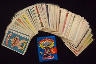 Garbage Pail Kids Series 2 Glossy Live Mike Set 86 Cards Variations Sealed Pack