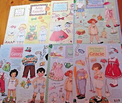 Mary Engelbreit Paper Dolls Lot Home Companion and Leading the Artful Life