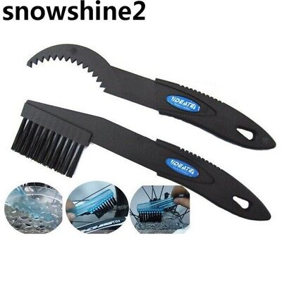 snowshine2 #3522 Cycling Bike Bicycle Chain Wheel Cleaning Cleaner Scrubber Kit