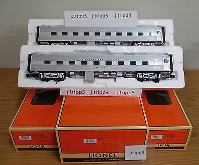 Lionel 25731 California Zephyr Cb&q 18'' Aluminum Passenger 2 Pack O Scale Train