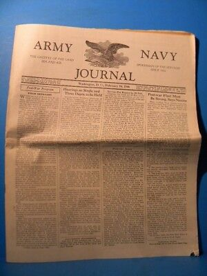 Army & Navy Journal 1946 Feb 16 1946 Vol 83 No 25