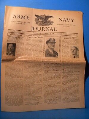 Army & Navy Journal 1946 Jan 26 1946 Vol 83 No 22