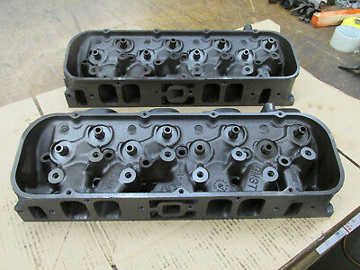 1969 Big Block Chevy BBC 396 427 Rectangle Port Heads 3919840 H-28-8 I-17-8 840