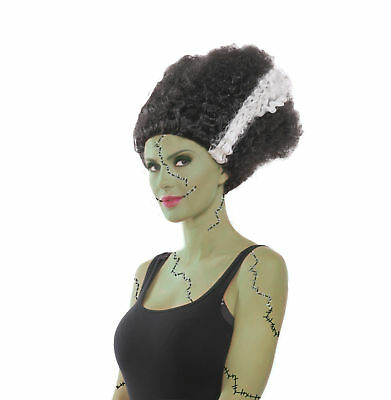 Monster Bride Frankenstein Wig Adult Womens Costume Accessory NEW One Size