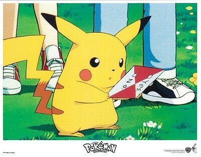 Pokemon movie poster print # 3 - 11 x 14 inches - Pikachu poster