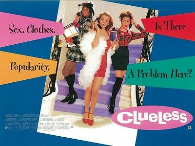 Clueless movie poster print - Alicia Silverstone poster 12 x 16 inches