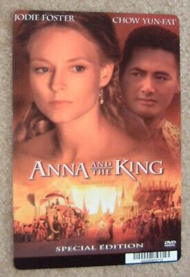 Anna and the King promo art card - Jodie Foster