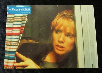 THE BIG BLUE lobby card  #10 ROSANNA ARQUETTE,  LUC BESSON