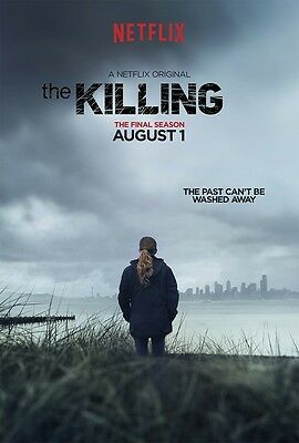 The Killing poster print  : 11 x 17 inches