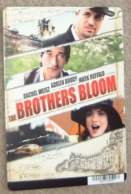 The Brothers Bloom promo art card - Adrien Brody