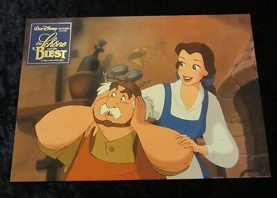 Beauty and the Beast lobby card/still # 5 - Walt Disney
