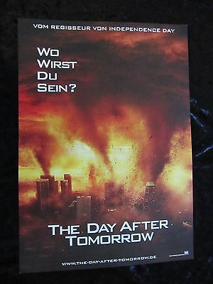 The Day After Tomorrow lobby card # 2