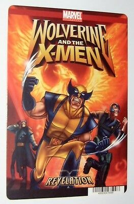 Wolverine and the X-Men movie backer card  - Revelation