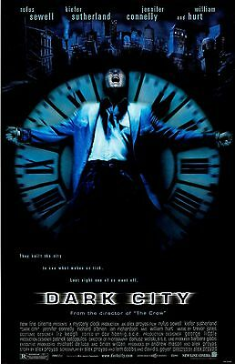 """Dark City movie poster  - 11"""" x 17"""" inches - Rufus Sewell"""