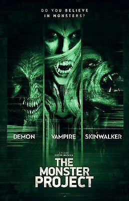 """The Monster Project movie poster (b) - 11"""" x 17"""" inches"""