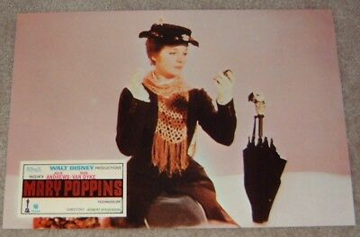 Mary Poppins lobby card print # 1 - Julie Andrews
