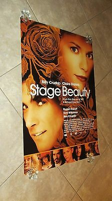 STAGE BEAUTY movie poster CLAIRE DANES poster, BILLY CRUDUP -  27 x 40 inches