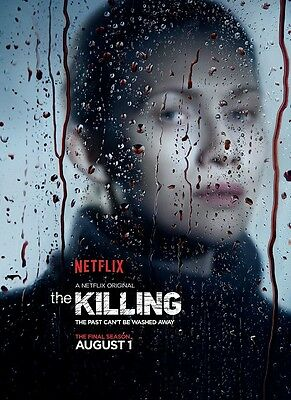 The Killing poster - 11 x 17 inches - Mireille Enos poster