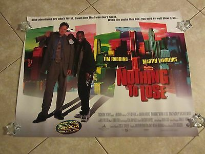 NOTHING TO LOSE movie poster TIM ROBBINS, MARTIN LAWRENCE