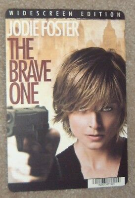 THE BRAVE ONE promo art card JODIE FOSTER