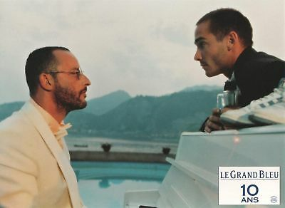 THE BIG BLUE - lobby card - LUC BESSON