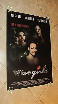 Wise Girls movie poster - Mariah Carey poster - 27 x 40 inches