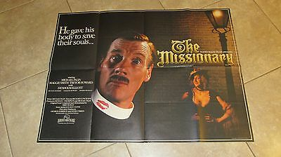 The Missionary movie poster  - Michael Palin - original uk quad