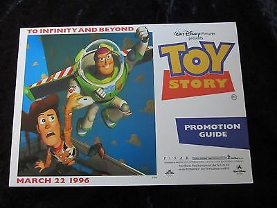 Toy Story promotion guide - British Press Material - Not sold in stores
