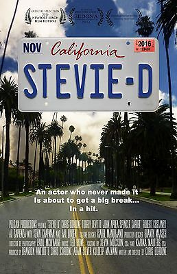"""Stevie D movie poster -  11"""" x 17"""" inches"""