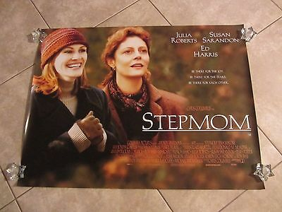 Stepmom movie poster - Julia Roberts, Susan Sarandon - original UK Quad