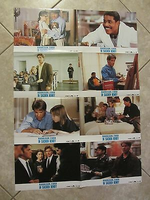 REGARDING HENRY lobby cards  HARRISON FORD - original German set
