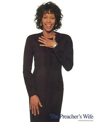 THE PREACHERS WIFE  lobby card print - WHITNEY HOUSTON poster - 11 x 14 inches