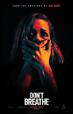 Don't Breathe poster (a)  - 11 x 17 inches - Horror (2016)