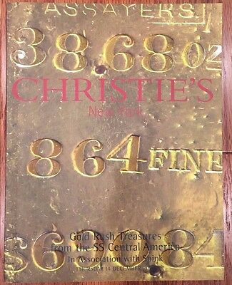 Christie's Gold Rush Treasures from the SS Central America DEC. 2000 Auction