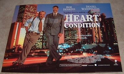 Heart Condition  movie poster Bob Hoskins, Denzel Washington - 30 x 40 inches