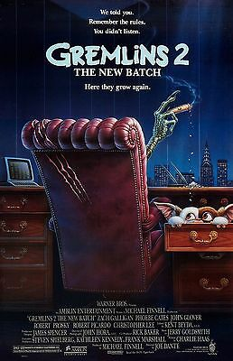 """Gremlins 2 movie poster -  11"""" x 17"""" inches - Gizmo, Gremlins poster"""