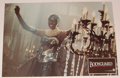 The Bodyguard lobby card print - Whitney Houston, Kevin Costner # 10