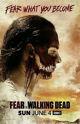 Fear The Walking Dead poster (c) : 11 x 17 inches