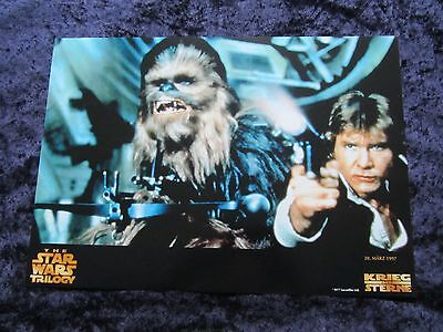Star Wars movie poster - German style poster print # 1