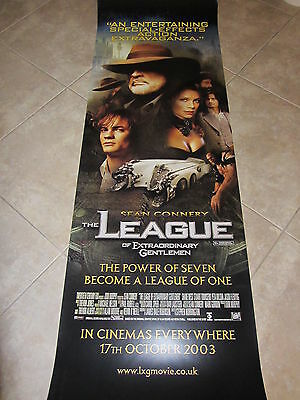 The League Of Extraordinary Gentlemen movie poster - large door banner