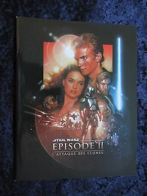 Star Wars Episode 2 Attack Of The Clones press book - 54 pages