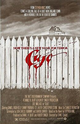 """Cujo movie poster  -  11"""" x 17"""" inches - Horror, Stephen King"""