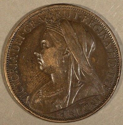 1898 Great Britain Penny Very Nice                     ** FREE U.S SHIPPING**