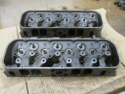 1969 Big Block Chevy BBC 396 427 Rectangle Port Heads 3919840 I-18-8 840