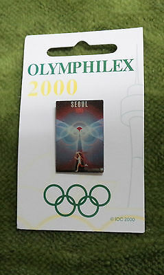 #P219. Olympic 2000 Exhibition Pin - Seoul  1988