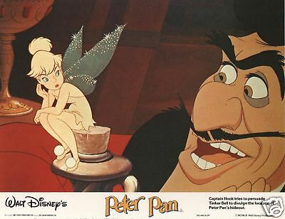 Disney's PETER PAN  lobby cards - set of 8 front of house stills. J.M. BARRIE