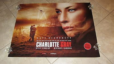 Charlotte Gray movie poster - Cate Blanchett poster - 30 x 40