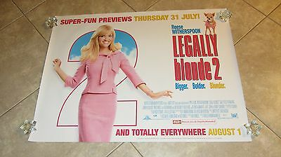 LEGALLY BLONDE 2 movie poster (A) REESE WITHERSPOON poster